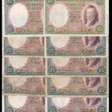 Billetes españoles: ESPAÑA BILLETE DE 25 PESETAS DE 1931 VICENTE LÓPEZ. Lote 147091638