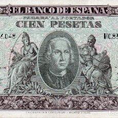 Billetes españoles: BILLETE ESPAÑOL 100 PESETAS COLÓN MADRID 9 ENERO 1940 EBC- MUY BONITO. Lote 145948314