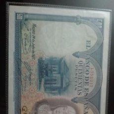 Billetes españoles: BILLETE 1000 PESETAS PARA JULIO 1927 EBC. Lote 146130550