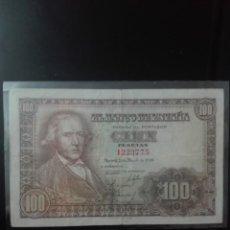 Billetes españoles: BILLETE 100 PESETAS MAYO 1948. SIN SERIE. Lote 146138774