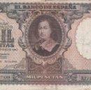 Billetes españoles: BILLETE DE 1000 PESETAS DEL AÑO 1940 DE BARTOLOME MURILLO (RARO Y DIFICIL). Lote 146567398