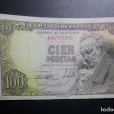 Billetes españoles: BILLETE 100 PESETAS 1946 MBC+ ESTADO ESPAÑOL FRANCO MUY CORRECTO**PAGO SOLO PAYPAL**. Lote 147060138