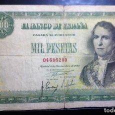 Billetes españoles: BILLETE 1000 PESETAS 1949 ESTADO ESPAÑOL FRANCO**PAGO SOLO PAYPAL**. Lote 147062418