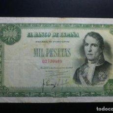 Billetes españoles: BILLETE 1000 PESETAS 1949 MBC ESTADO ESPAÑOL FRANCO**PAGO SOLO PAYPAL**. Lote 147062690
