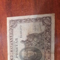 Billetes españoles: ESPAÑA BILLETE DE 100 PESETAS 1940 CRISTOBAL COLON MADRID SERIE B 9.90.272. Lote 147195014