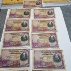 Billetes españoles: BILLETES 50 PESETAS LOTE 11 DE 1928. Lote 147394874