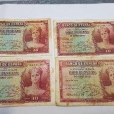 Billetes españoles: BILLETES DE ESPAÑA 10 PESETAS 1935. Lote 147395453