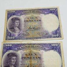 Billetes españoles: BILLETES DE ESPAÑA 100 PESETAS 1931. Lote 147395701