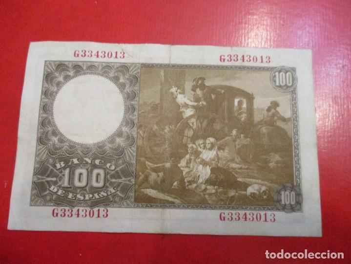 Billetes españoles: Billete de 100 pesetas 2 de mayo. 1948 - Foto 2 - 147619342