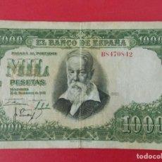 Billetes españoles: BILLETE DE 1000 PESETAS 1951 - JOAQUIN SOROLLA - CON SERIE B .. A1146. Lote 147702322