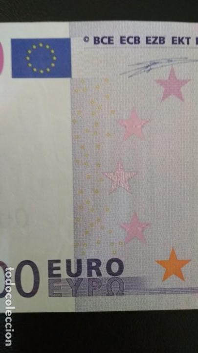 Billetes españoles: Billete de 500 euros de la primera firma de Duisenberg, número bajo, sin circular/plancha - Foto 3 - 147766458