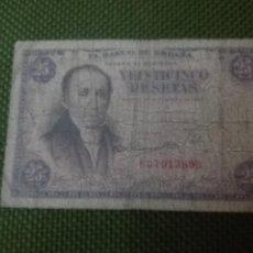 Billetes españoles: 25 PESETAS EMISIÓN FEBRERO 1946. Lote 147961534