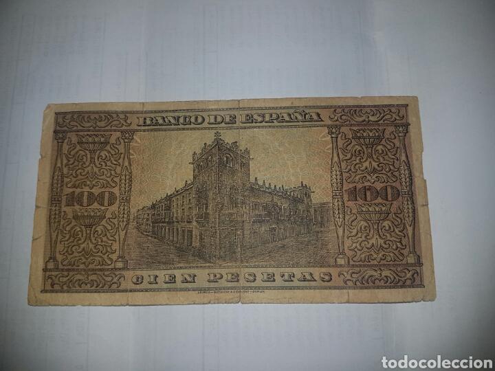 Billetes españoles: BILLETE DE 100 PESETAS DEL AÑO 1938 - Foto 2 - 148642842