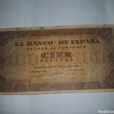 Billetes españoles: BILLETE DE 100 PESETAS DEL AÑO 1938. Lote 148644405