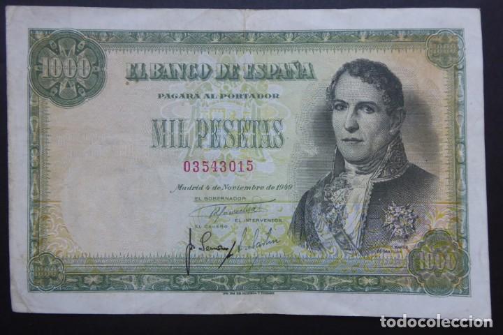 SPAIN - BANCO DE ESPAÑA 1949 1000 PESETAS (Numismática - Notafilia - Billetes Españoles)