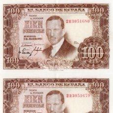 Billetes españoles: BILLETES ANTIGUOS ESPAÑOLES.. Lote 149944058