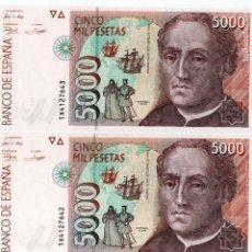 Billetes españoles: BILLETES ANTIGUOS ESPAÑOLES. Lote 149944918