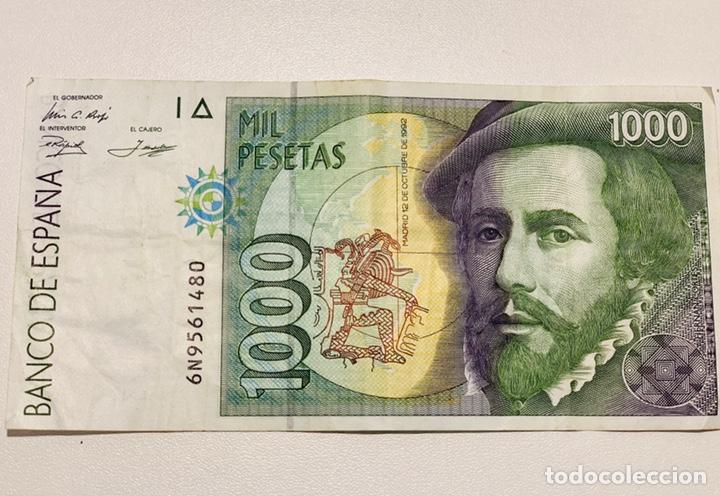 Billetes españoles: TRES BILLETES DE MIL PESETAS DE1992 - Foto 4 - 150505518