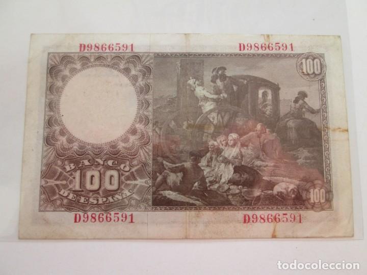 Billetes españoles: BILLETE * 100 PESETAS 2 DE MAYO DE 1948 - Foto 2 - 150847458