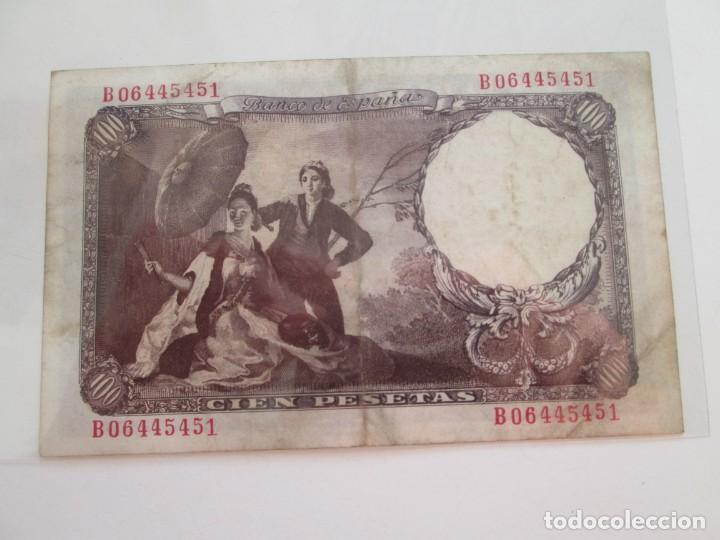 Billetes españoles: BILLETE * 100 PESETAS 19 DE FEBRERO DE 1946 - Foto 2 - 150847498