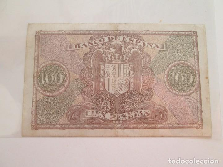 Billetes españoles: BILLETE * 100 PESETAS 9 DE ENERO DE 1940 - Foto 2 - 150847574