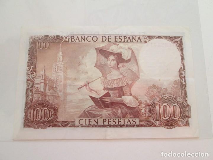 Billetes españoles: BILLETE * 100 PESETAS 19 DE NOVIEMBRE DE 1965 - Foto 2 - 150847626