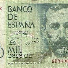 Billetes españoles: 2 BILLETES DE 1000 PTAS AÑOS 1979 Y 1992.CIRCULADOS. Lote 151133018