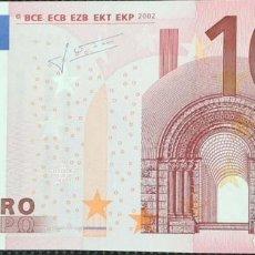 Billetes españoles: 10 EUROS DE LA SEGUNDA FIRMA DETRICHET PLANCHA N033D6, LETRA Y18475685092,SC/PLANCHA. Lote 151451934