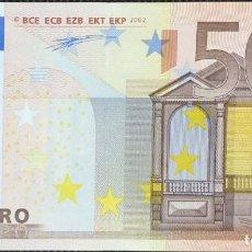 Billetes españoles: 50 EUROS CON LA PRIMERA FIRMA DE DUISENBERG, DE ESPAÑA LETRA V, SIN CIRCULAR/PLANCHA. Lote 151469442