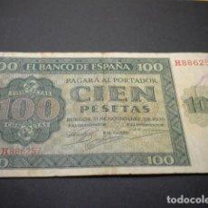 Billetes españoles: BITLLET DE 100 PESSETES 1936 / BILLETE 100 PESETAS 1936. Lote 151525086