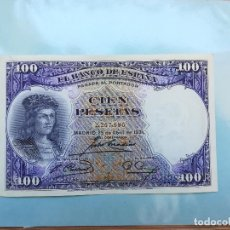 Billetes españoles: BILLETE DE 100 PESETAS DE G.FERNADEZ DE CORDOBA DEL AÑO 1931.. Lote 151577774