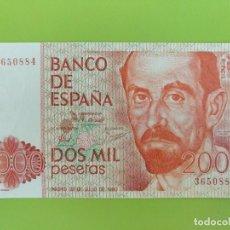 Billetes españoles: 2000 PESETAS 1980 SIN CIRCULAR. Lote 152054930