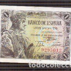 Billetes españoles: PESETA DE FERNANDO EL CATOLICO SIN SERIE FRANCO . Lote 153483462