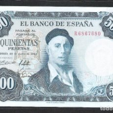 Billetes españoles: 500 PESETAS 1954 SERIE R S/C. Lote 151380898