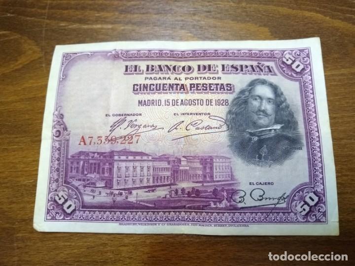 Billetes españoles: LOTE BILLETES ESPAÑOLES - Foto 3 - 155004738