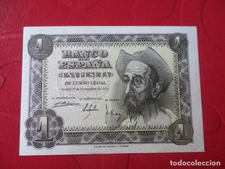 BILLETE DE 1 PESETA. 19 NOVIEMBRE 1951 (Numismática - Notafilia - Billetes Españoles)