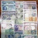 Billetes españoles: 30 BILLETES DE ALFONSO XIII, 2ª REPUBLICA, DEL ESTADO ESPAÑOL Y JUAN CARLOS I. LOTE 1049. Lote 159666756