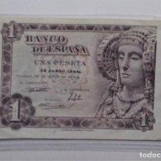 Billetes españoles: ESPAÑA /SPAIN /SPANIEN BANKNOTE BILLETE 1 PESETA 1948 EBC *PAGO SOLO PAYPAL. Lote 155790870