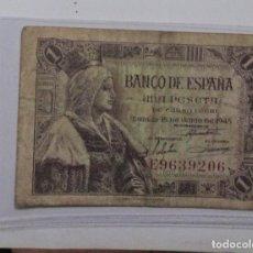 Billetes españoles: ESPAÑA /SPAIN /SPANIEN BANKNOTE BILLETE 1 PESETA 1945 USADA *PAGO SOLO PAYPAL. Lote 155791022