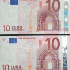 Billetes españoles: LOTE DE 3 BILLETES DE TRICHET. Lote 155990706