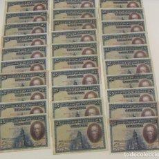 Billetes españoles: LOTE DE 30 BILLETES DE 25 PESETAS 1925 DIFERENTES CONSERVACIONES. Lote 173683508