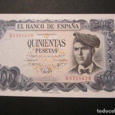 Billetes españoles: 500 PESETAS DE 1971 SERIE R-629 SIN CIRCULAR/PLANCHA. Lote 158575722