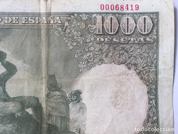 Billetes españoles: 1 BILLETE de 1000 pesetas (1949) ¡Coleccionista! ¡Original! - Foto 4 - 160263870