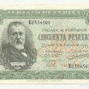 Billetes españoles: BILLETE DE 50 PESETAS DE 9 DE ENERO DE 1940, DE LA SERIE D. LOTE 1056. Lote 160384230