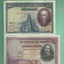 Billetes españoles: LOTE DE 3 BILLETES ESPAÑOLES 1928. 25,50 Y 100 PESETAS.. Lote 160384834