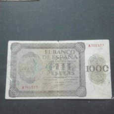 Billetes españoles: QUINIENTAS PESETAS BURGOS 1936. Lote 160855042