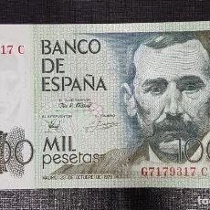 Billetes españoles: BILLETE 1000 PESETAS 1979 PEREZ GALDOS . Lote 161153010