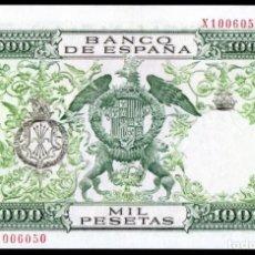 Billetes españoles: 1000 PESETAS DE 1957 SIN CIRCULAR/PLANCHA. Lote 162818650