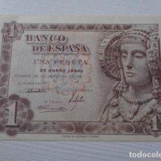 Billetes españoles: ESTADO ESPAÑOL. 1 PESETA. 1948. DAMA DE ELCHE. . Lote 163454610