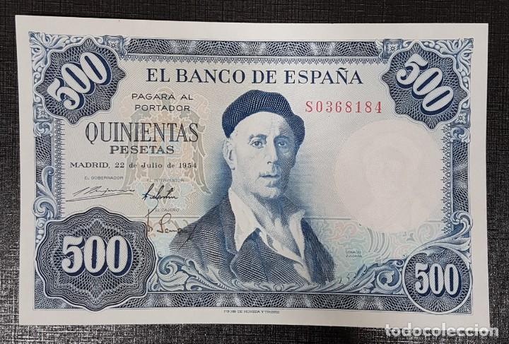 BILLETE 500 PESETAS 1954 ZULOAGA (Numismática - Notafilia - Billetes Españoles)